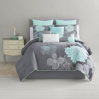 Home Expressions Alice Modern Floral 10-pc. Comforter Set ...
