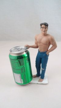 Fun Novelty Shirtless Beefcake Sexy 6 Pack Abs Man Beer ...