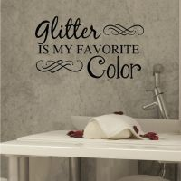 Nail Salon Art, Spa Art, Glitter Is My Favorite Color ...