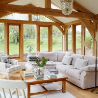 Living room with stunning garden views | Living room ...