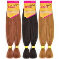 OUTRE Synthetic Hair Braids Kanekalon Jumbo Braid   Braids ...