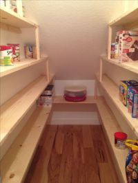 Under Stairs Pantry Shelving | Pantry | Pinterest | The ...