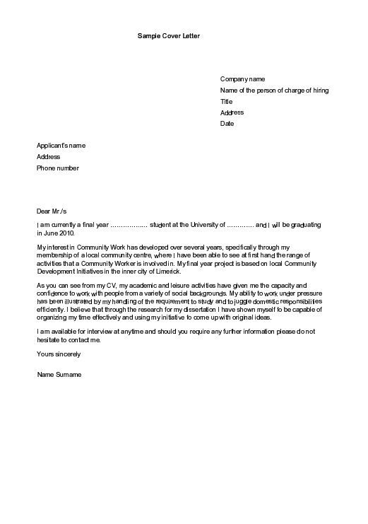 cover letter examples accounting no experience, Do My Science - application letter example