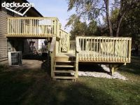 Multi Level Deck Picture Gallery | Deck ideas | Pinterest ...