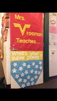 Teacher Appreciation Door Decoration   Ideas for School ...