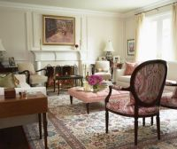 Sarah richardson, Traditional living rooms and Living