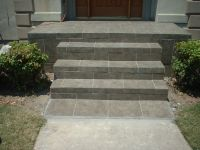 Slate Tile Front Porch and Steps | Future House ...