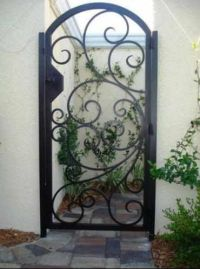 Courtyards, Wrought iron and Irons on Pinterest