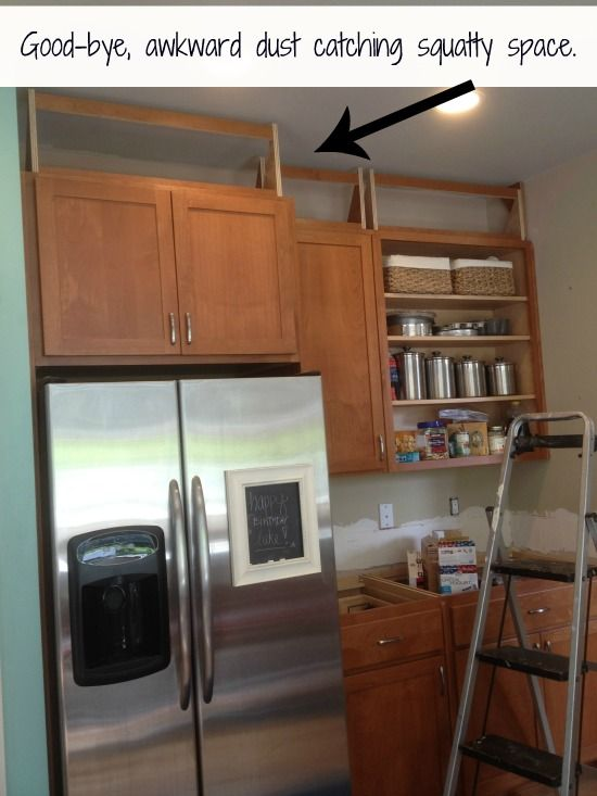 Spacing Between Kitchen Cabinets Above Cabinets, Cabinets And Spaces On Pinterest