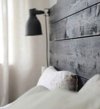 Head boards, Ikea and Wall lamps on Pinterest