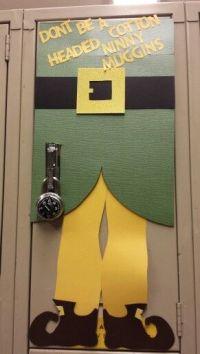Christmas locker decorations | locker decorating ...