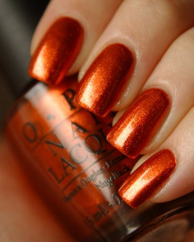 Opi Take The Stage Favorite For Fall Linda Hodge