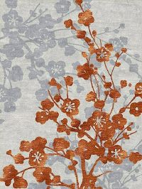orange and grey flower carpet | Apricot Dreams (of Home ...