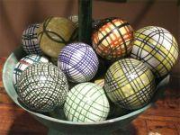 An Assortment Of English Carpet Balls Priced Each ...