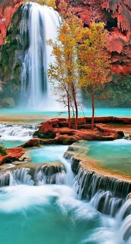 Havasu Falls, Grand Canyon, Arizona: