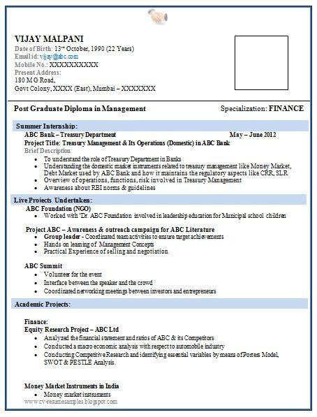 2 Years Experience Resume Format Free Download Resume Format 2 Years Experience Free Resume Template Mba Fresher Resumes Httpresumecareerinfomba
