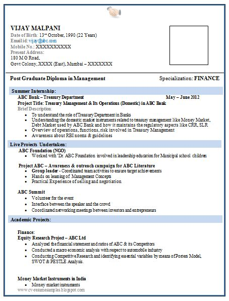 catering fresher resume template