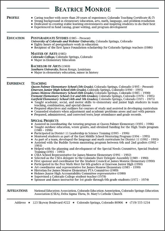 teacher resume cover letters samples thesis in educational - teaching resume