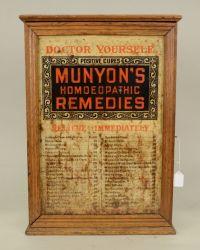 MUNYONS HOMEOPATHIC REMEDIES OAK CABINET | Steampunk ...