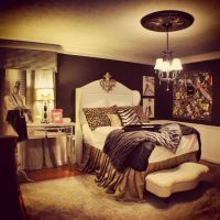 Damask curtains, Houndstooth and Cheetahs on Pinterest