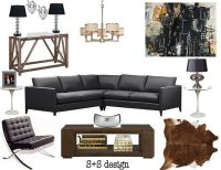 Bachelor room, Design and Everything on Pinterest