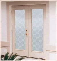 Add decorative privacy to windows, glass doors, showers ...