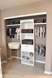 nursery closet, baby boy room | Nursery Decor | Pinterest ...