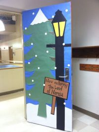A teacher's classroom door would be brilliant for a year ...