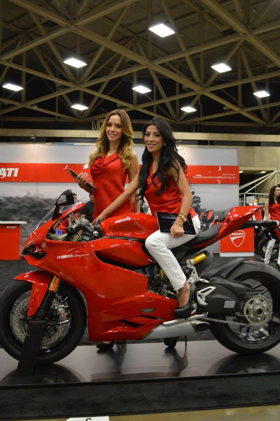 Hd Wallpaper Girl Bike Ducati Girls With The 1199 Panigale The Ladies Of Ims