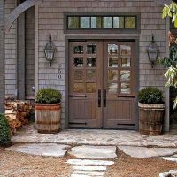 Front stoop, Front doors and Search on Pinterest