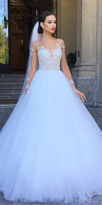 24 Various Ball Gown Wedding Dresses For Amazing Look