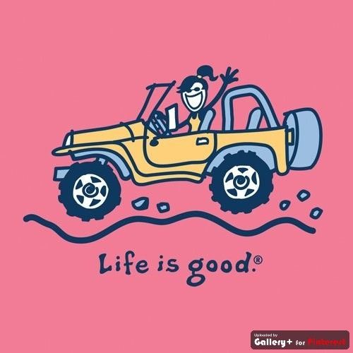Quotes About The Wife In The Yellow Wallpaper Going Crazy Jeep Girl From Life Is Good And She Is Driving A