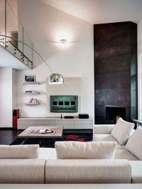 Architecture,Modern Living Room Design Ideas With Corner ...