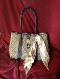 SILK purse scarf hair scarf ponytail holder. by ...