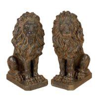lion statues from my front door!!!! | For casa de Amy ...