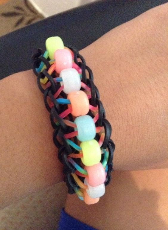 How To Make The Rainbow Loom Beaded Ladder Easy