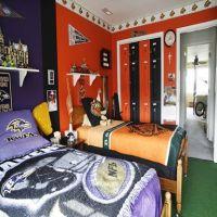 NFL bedroom | teen boys room ideas | Pinterest | NFL and ...