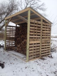 Wood shed made of pallets. | Buildings | Pinterest | Sheds ...