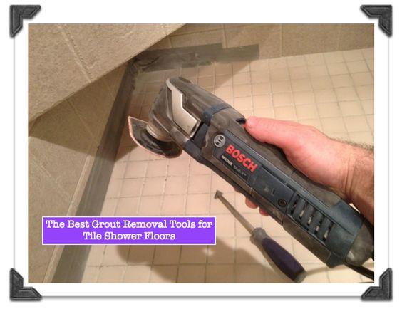 Best Grout Removal Tools For Shower Tile Floors | Tips, Tricks
