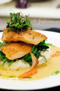 Plated Fish Presentation | Cooking With Bea | Pinterest ...