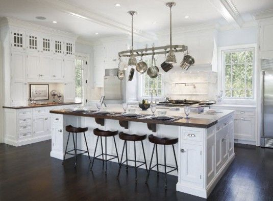 Kitchen Island With Cabinets On Both Sides White Kitchen Islands With Seating- Make Seating On Both