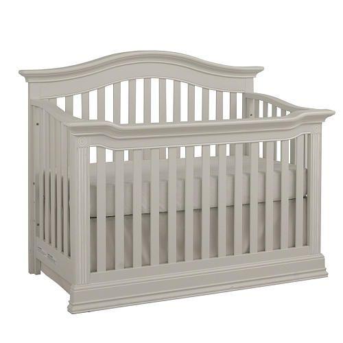 Baby Cache Montana 4 In 1 Convertible Crib Glazed White