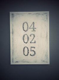 DIY anniversary date thumbtack canvas wall art.   My DIY ...