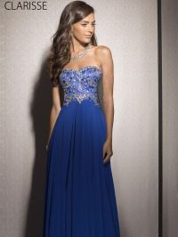 Elegant, Flowy, Royal Blue 2016 Prom Dress Style 2566 ...