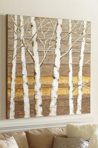 Tree wall art, Birches and Tree wall on Pinterest