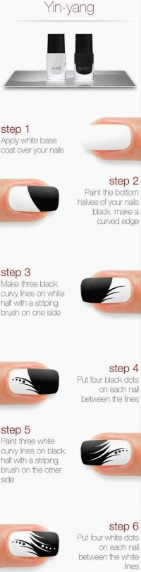 101 Easy Nail Art Ideas and Designs for Beginners   Easy ...