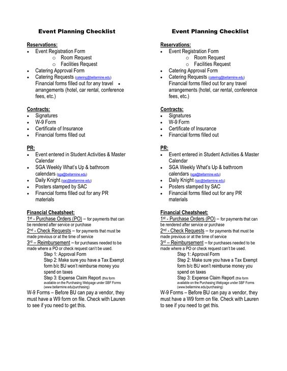 contracts for event planners templates