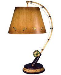 fishing decor | Flying Fish Rod Table Lamp - Product ...