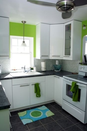 White Green Kitchen Ideas Kitchen Gallery: White, Bright, And Clean | The White