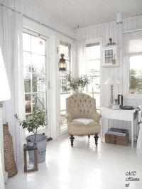 Living Room. White, Grey, Black, Chippy, Shabby Chic ...